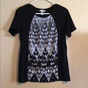 Very cute polyester and spandex t-shirt